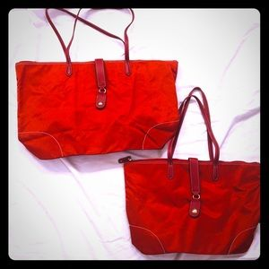 JPK Paris Love sac red weekend bag set